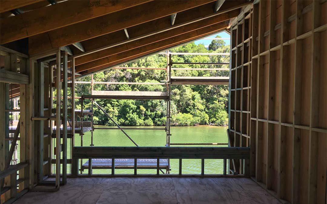 Mcm Pavilion House Taking Shape