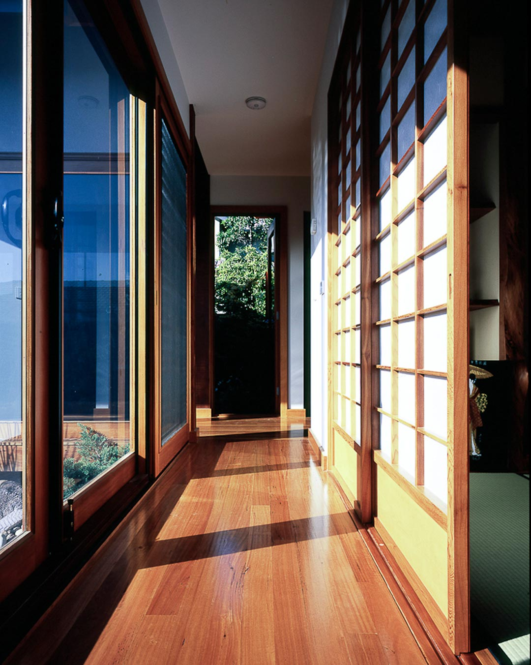 architecture design melbourne sustainability passive house japanese timber